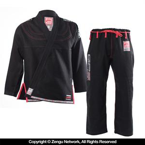Grab and Pull Elite Black Jiu Jitsu Gi